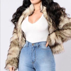 Fernanda faux fur coat